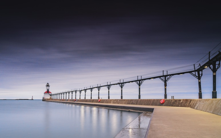 Framing Places - Guild Qualified - Kinked Pier and Lighthouse